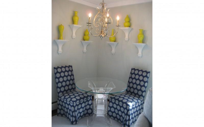 fresh corner room design